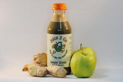 Ginger Green - Fruit & Vegetable Juice. Product thumbnail image
