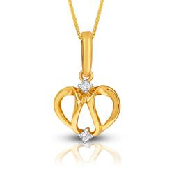 Gold Pendant with Diamonds. Product thumbnail image
